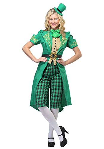 (Women's Charming Leprechaun Costume Medium)