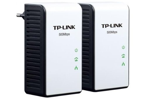 TP-Link Mini TL-PA411KIT Powerline-Netzwerkadapter (500Mbps, Fast Ethernet, Ultra-Kompaktgehäuse) 2er Set