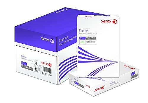 Xerox 003R91720 - Papel para fotocopiadoras (500 hojas A4), blanco, pack de 5