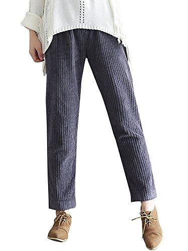 Brushed Corduroy Pants - 5