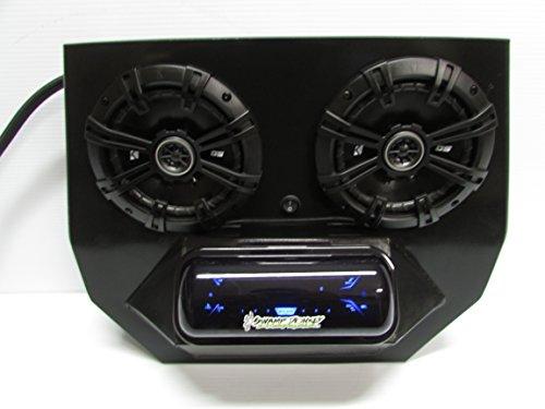 "SD 2BBT2B -Polaris RZR Stereo System Bluetooth UTV Side by Side (2-6.5"" marine speakers)"