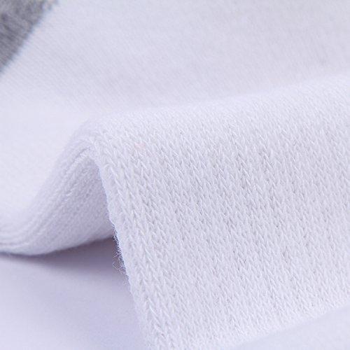 Enerwear 10P Pack Men's Cotton Moisture Wicking Extra Heavy Cushion Crew Socks