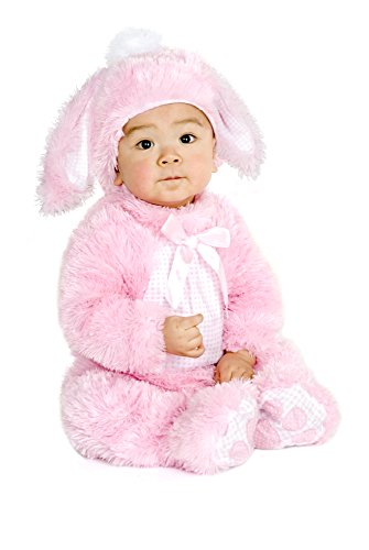 Charades Plush Little Pink Bunny Children's Costume, X-Small ()