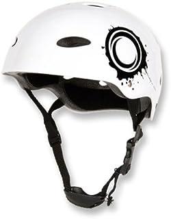 Petite Blanc OSX Osprey Skate ou vélo BMX Casque de sécurité Crash. Idéal pour vélo, Skateboard, Roller Skate, Roller, ski, snowboard et de nombreux autres sports de plein air.