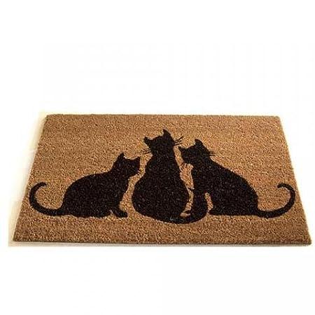 Gardman Cat Printed Coir Door Mat