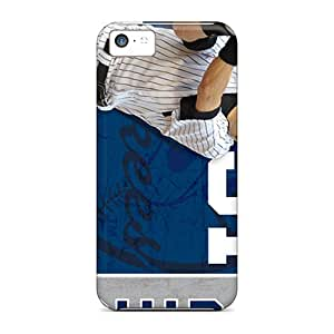 Perfect Hard Phone Covers For Iphone 5c (hlj12419gbfl) Support Personal Customs Stylish New York Yankees Skin