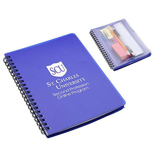 150 Personalized Hardcover Notebook With Pouch Printed With Your Logo Or Message by Ummah Promotions (Image #2)