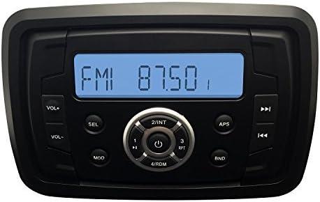 Marine Radio wasserdicht MP3 USB Bluetooth AUX Boote  IPhone /& Android fähig!!!