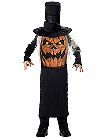 FANCY DRESS COSTUME ~ BOYS Batman SCARECROW LG AGE 8-10