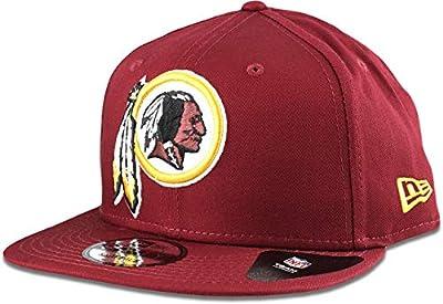 New Era Washington Redskins Hat NFL Burgundy 9FIFTY Snapback Adjustable Cap Adult One Size