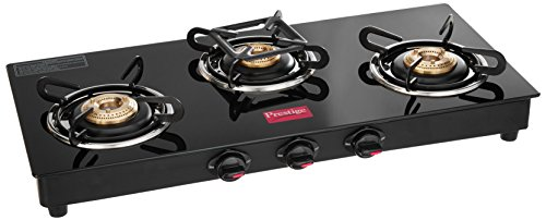 Merveilleux Buy Prestige Marvel Glass 3 Burner Gas Stove (Black) Online At Low Prices  In India   Amazon.in