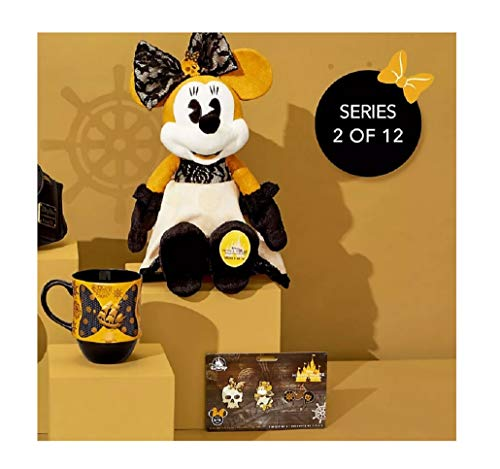 limited The Main Attraction - February 2020 - Minnie Mouse - Pirates of The Caribbean Release - Set of 3, Plush, Pins Set and Mug