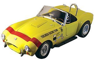 (1965 Shelby Cobra Convertible, Terlingua Racing Team, Yellow in 1:18 Scale by Shelby Collectibles )