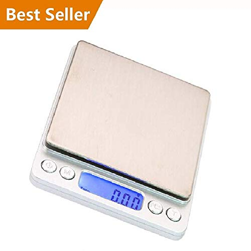 Menlore 0.1Gram Precision Jewelry Electronic Digital Balance Weight Pocket Scale 3000g - Ship from US ()