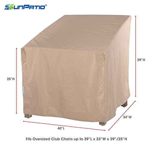 Review SunPatio Outdoor Oversized Club