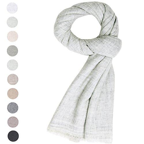 Spring Summer 19-20 Fashion Cashmere Scarf Unisex Women's Men Soft Wool Shawl Large Stole Pashmina White Grey