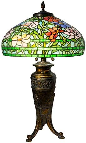 Dale Tiffany Lamps TT20038 Astin Floral Tiffany Table Lamp