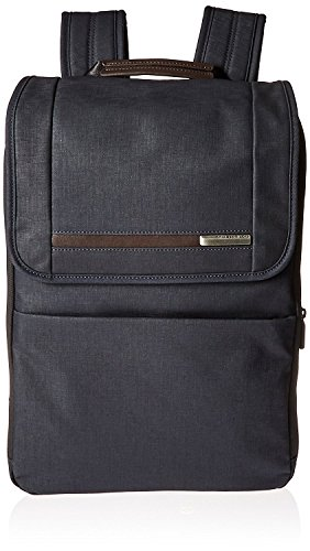 Briggs & Riley Kinzie Street Flapover Expandable Backpack, Navy by Briggs & Riley