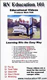 RV Education 101, Learning RV's the Easy Way, Pop Up/Travel Trailer