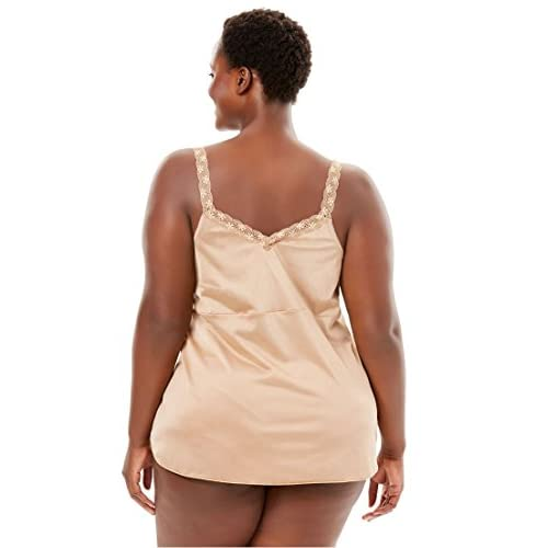 a2e79e535e78cc Comfort Choice Women s Plus Size Tricot Lace Camisole good ...