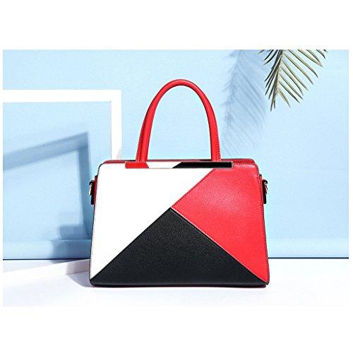 Shoulder Fashion Hit Ms Color Red Messenger Bag Red Shoulder Color Bag Female Casual Diagonal Atmosphere JIUTE 8UgXPX