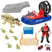 Animal Planet Wild Animal Crocodile Rescue Playset by Toys R (Animal Rescue Boat)