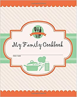 blank recipe book blank cookbook journal to write in 6 x 9104 pages organic apple