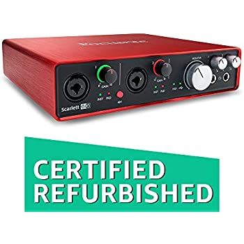 The Best Focusrite Scarlett 6i6 Interface Audio Usb Moderate Cost Audio/midi Interfaces Musical Instruments & Gear