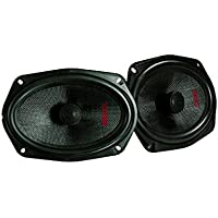 DS18 Elite Z-694 Pair of 6x9 2-Way Coaxial Speakers with Neodymium Tweeters - 4 Ohms - 150 Watts RMS - 240 Watts Max