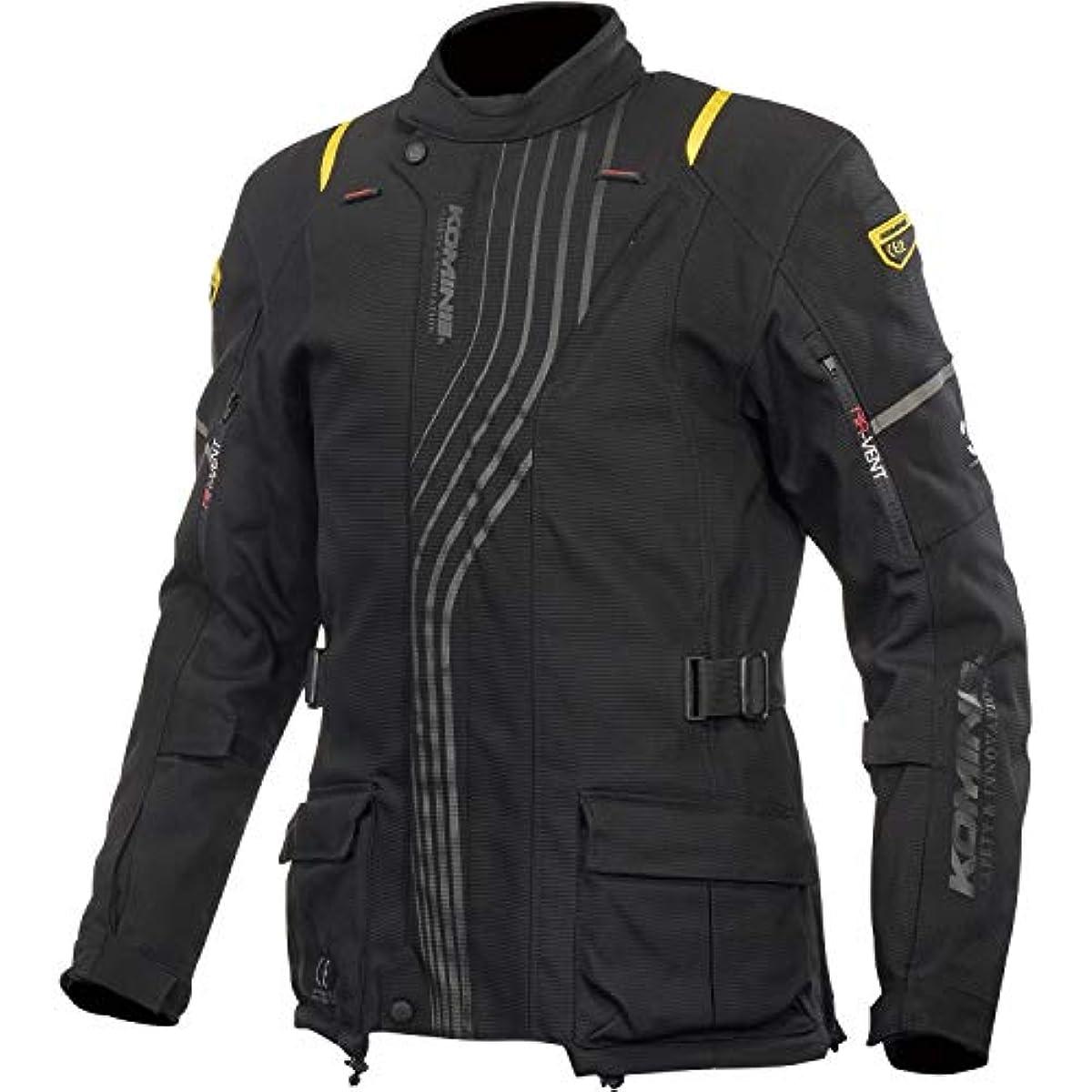 [해외] 코미네 KOMINE 오토바이 스푸리무 프로텍트 겨울 재킷 투습방수 보온 이너 CE규격 레벨2 프로텍터 추동 BLACK L 07-605 JK-605 07-605