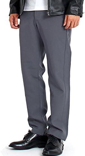 テーパードパンツ メンズ スラックス パンツ スーツ 生地 無地 ストライプ イージーパンツ ズボン セットアップ可