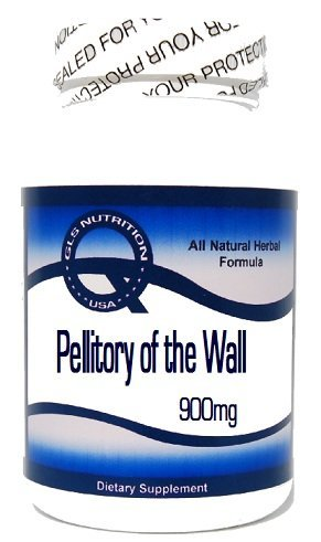 Amazon.com: Pellitory de la pared 900 mg 90 Cápsulas ^ GLS ...