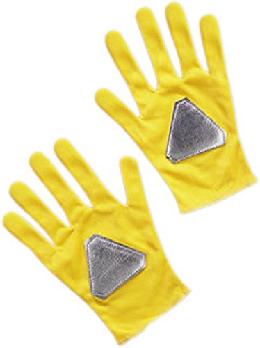 Yellow Power Ranger Costume Child (Gloves Yellow Power Ranger Costume Accessory)