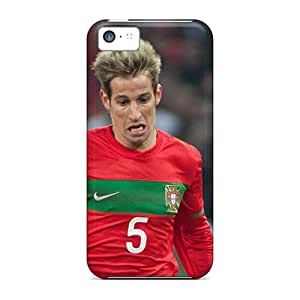 ZUdIF8297XSIXJ RareCases Awesome Case Cover Compatible With Iphone 5c - The Irreplaceable Defender Of Real Madrid F