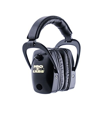 Pro Ears Pink Camo Pro Slim Gold Hearing Protection and Amplification Ear Muffs by Pro Ears