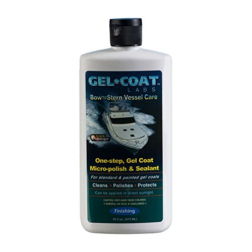 Gel Coat Labs One-Step Gel Coat Micro-Polish & Sealant 16 oz