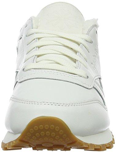 Pack Reebok Sherpa paperwhite Sneakers Basses Classic gum chalk Femme Blanc TTEqrH