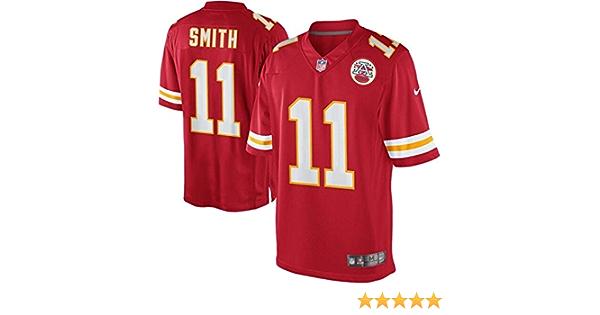 Nike Girls Kansas City Chiefs Alex Smith #11 Player Jersey