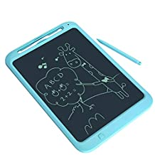 12 Inches Child LCD Panel Writing Board Baby Early Education Puzzle Magnetic Light Energy Painting Graffiti Writing Board