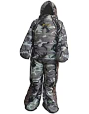 FITYLE Backpacking Outdoor Camping Hospital Wearable Sleeping Bag with Arms Legs for Family Easy On and Off