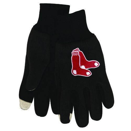 MLB Boston Red Sox Technology Touch - Mlb Sox Gloves