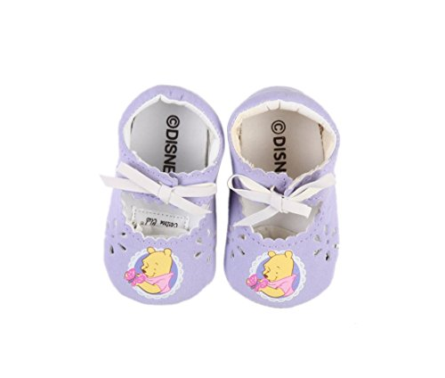 Rock a Bye Baby–Bailarinas Multicolor BLEU MARINE ET FUSCHIA Talla:0 a 6 meses lila