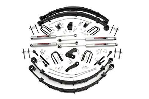 Rough Country - 622N2 - 6-inch Suspension Lift System w/ Premium N3 Shocks for Jeep: 87-95 Wrangler YJ 4WD
