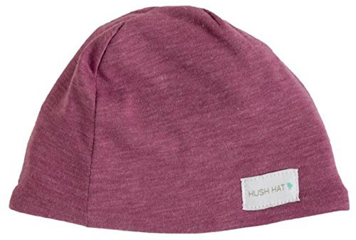 hush-hat-by-hush-baby-sound-absorbing-lightweight-baby-hat-fits-newborns-to-toddlers-aged-2-mulberry