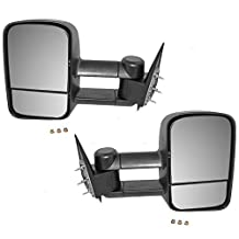 Scitoo 1999-2007 Chevy/GMC Silverado/Sierra Manual Telescoping Towing Mirror Pair