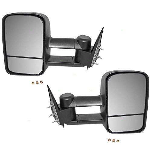gmc sierra towing mirrors - 8