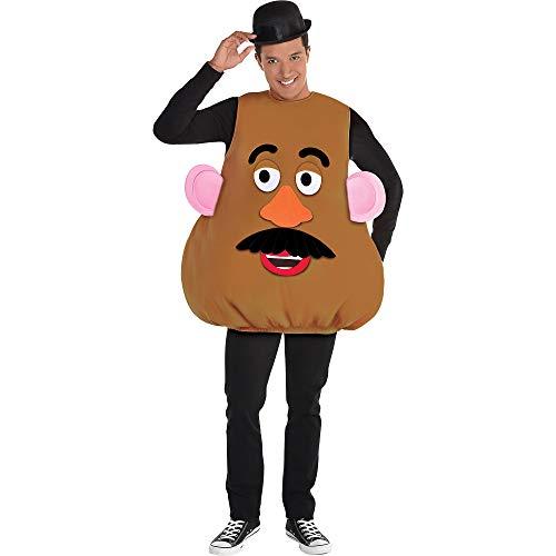 Mr Potato Head Halloween Costume (Party City Mr. Potato Head Halloween Costume Kit for Adults, Toy Story 4, One)