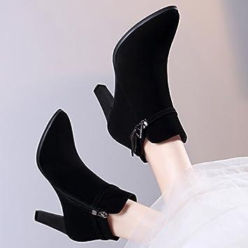 AJUNR Damen Neue Mode Schuhe Sachen Stiefel Martin Stiefel