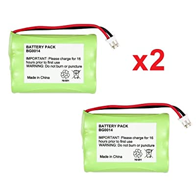 2 Fenzer Rechargeable Baby Monitor Batteries For Graco 2791 2795 by Fenzer