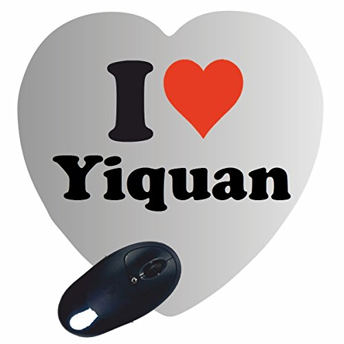 "EXKLUSIV: Heart Mousepad ""I Love Yiquan"" , a great gift idea for your partner, colleagues and many more!"